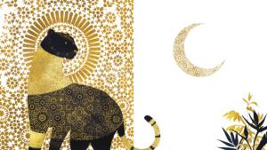 Un'ombra sulla luna con testo di Maddalena Schiavo per Edizioni Clichy