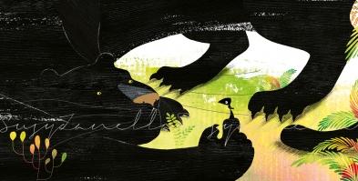 Un corvo e una casa